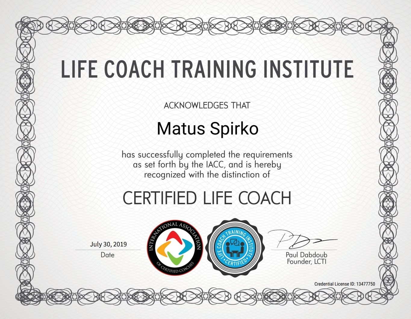 Life Coach Training Institute